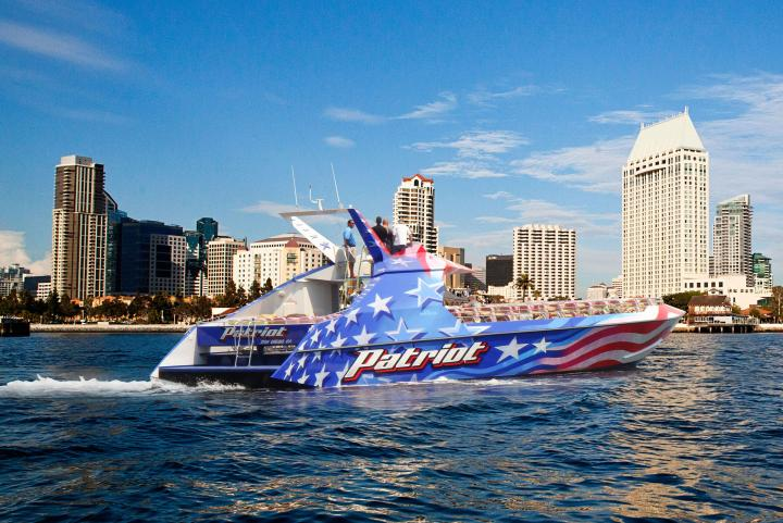 Patriot Jet Boat | San Diego | Flagship Cruises & Events