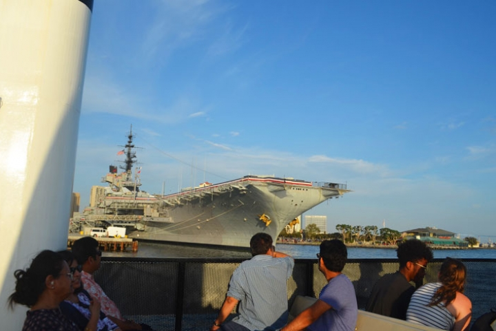 Great views of the USS Midway