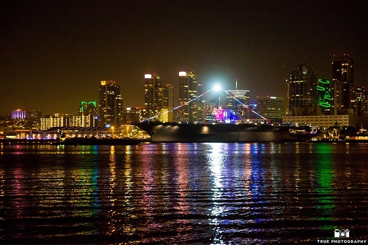 Night View of Downtown San Diego