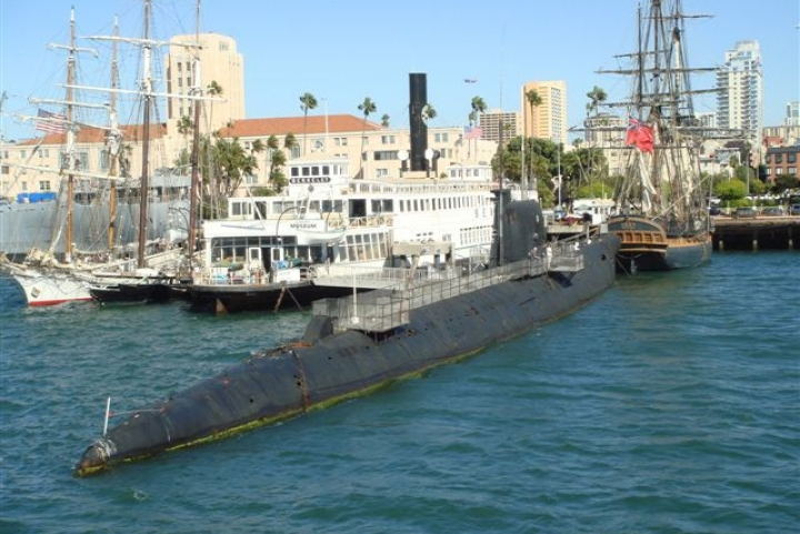 U.S. Military Submarines and Amphibious Ships