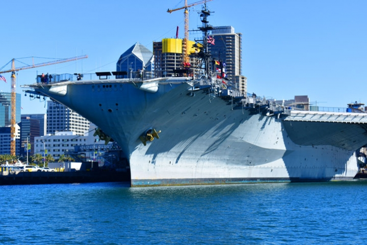 USS Midway on a San Diego Harbor Tour