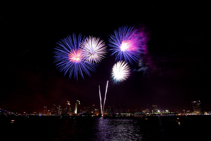 Synced music to San Diego Firework Display