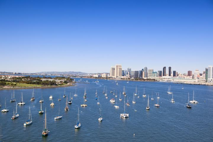 Take the San Diego Water Taxi anywhere on the waterfront