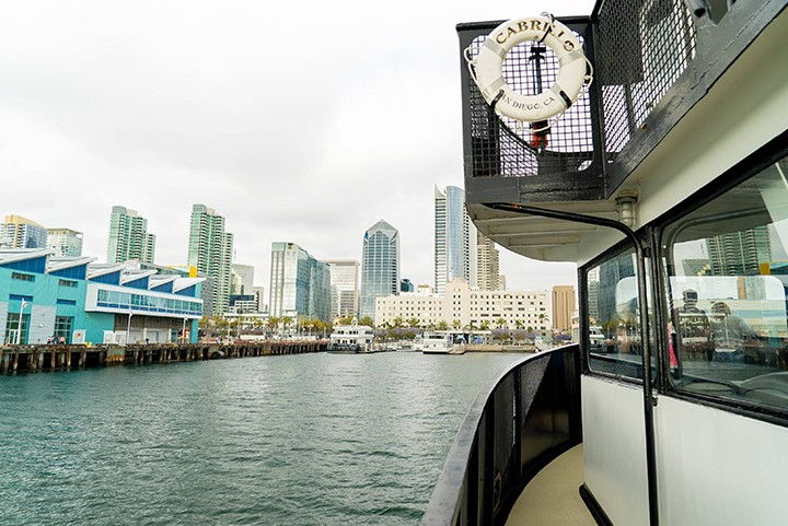 Take the Ferry to Downtown San Diego