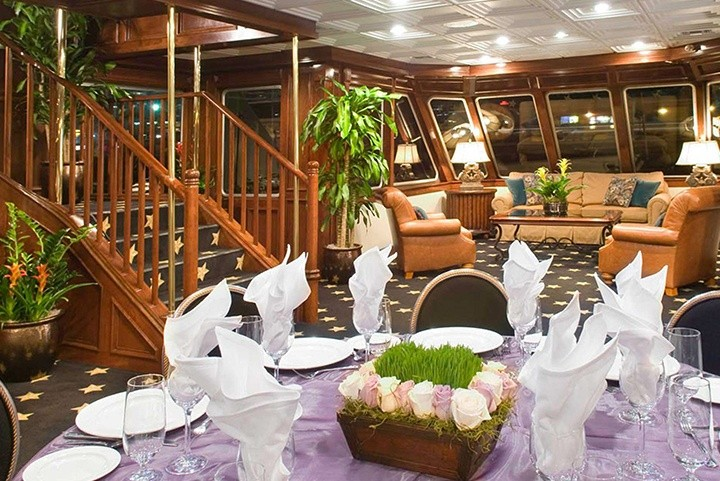 California Princess is Ideal for Wedding Receptions