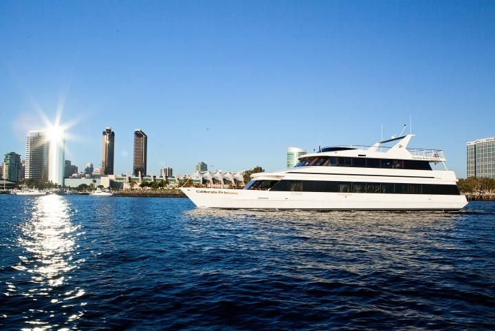 The California Princess on the San Diego Bay