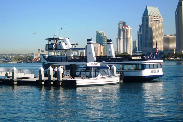 San Diego Ferry to Coronado Beach