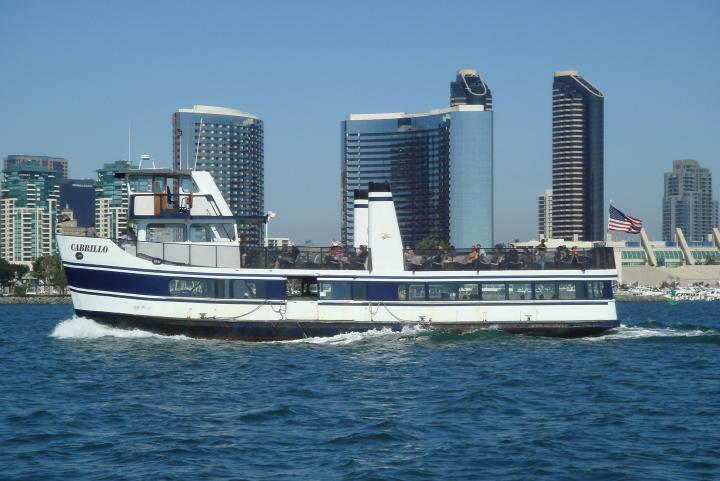 The Cabrillo is the Only San DIego Ferry