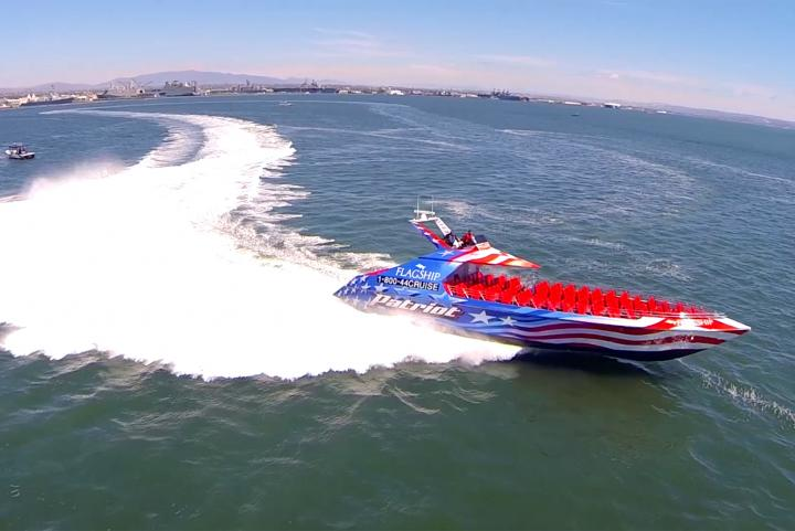 The Most Thrilling Ride on the San Diego Bay