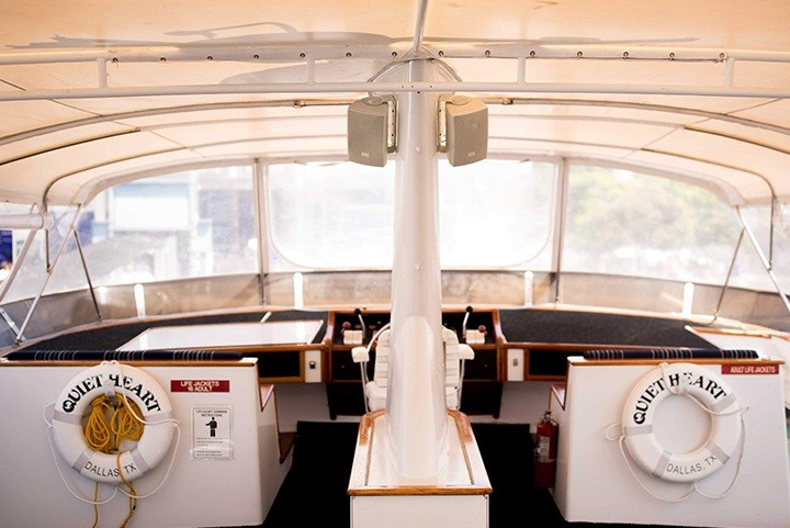 Captains seat on the Quiet Heart