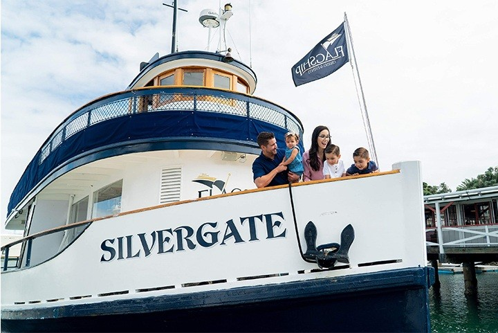 The Silvergate is our Classic Ferry Boat