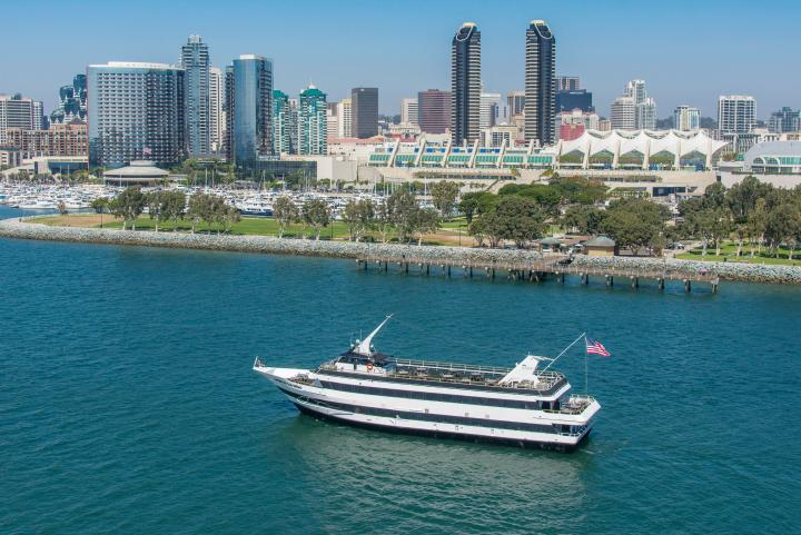 Spirit of San Diego on the San Diego Bay