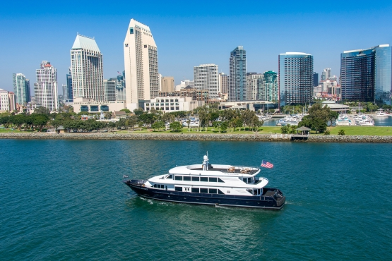 The California Spirit and Downtown San Diego