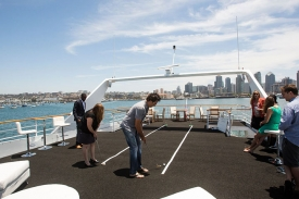 Conference Events on a Private Yacht