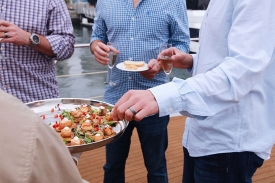 Customize your private yacht menu