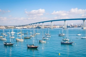 Host your office party on the San Diego Bay