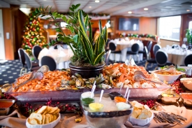 Host a holiday party on a yacht