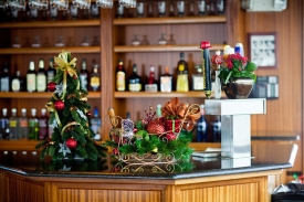 Stocked Bar for Your Guests
