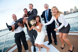 Bridal Showers on a Private Yacht