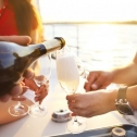 Sip Champagne in style on San Diego Bay