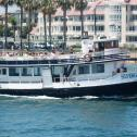 Daily ferry service between Coronado Ferry Landing and Broadway Pier