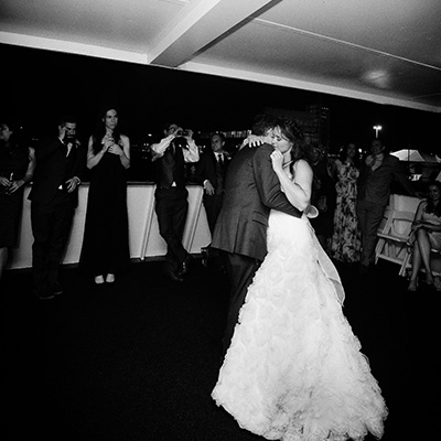 Danielle and Blake first dance