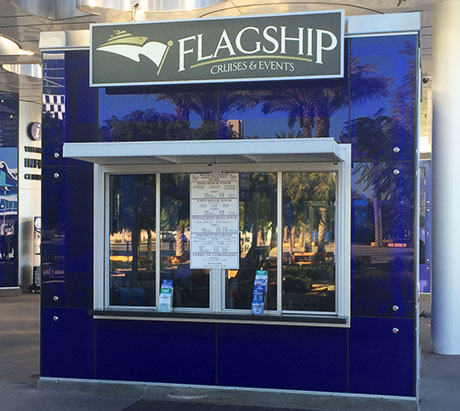 Flagship Ticket booth